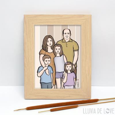 Láminas personalizadas para regalar a la familia o a las madres