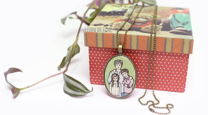 colgantes para madres