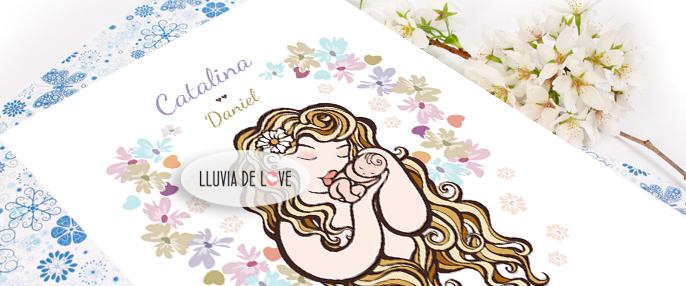 Regalos para recien nacidos, regalos para bebe, recuerdos de nacimiento, laminas personalizadas con nombres, regalos para bebes