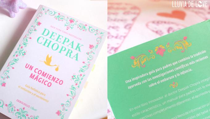 Un comienzo mágico de Deepak Chopra.Libros sobre embarazo consciente