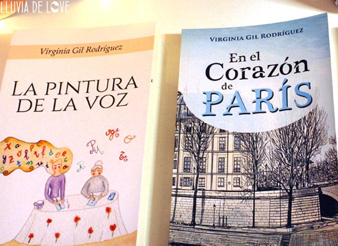 Libros de Virginia Gil Rodriguez. La Pintura de la Voz. En el Corazón de París