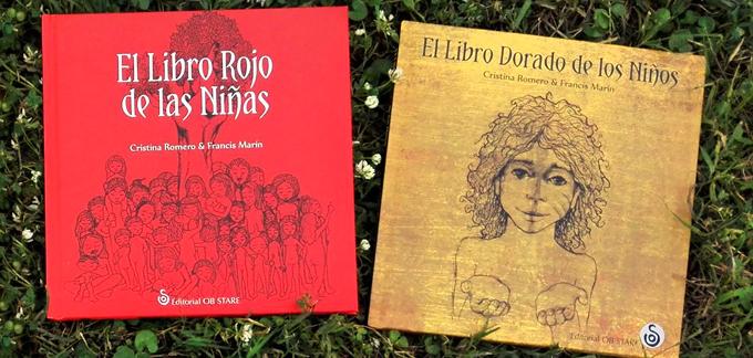 El Libro Rojo de las Niñas y El Libro Dorado de los Niños. Cristina Romero Miralles