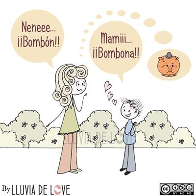 Mami bombona, bombona,Bombón
