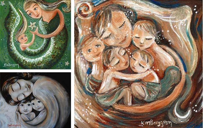 katie m berggren art & design. Obras y pintura de Katie M. Berggren