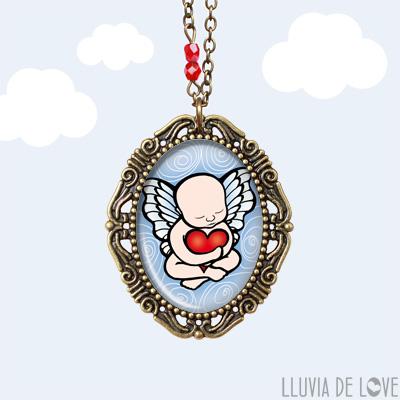 Recordatorio de tu bebé del cielo. Dibujo lo que pidas, lo que tu corazón desee. Un memorial del bebé perdido o del duelo gestacional para recordaar a tu hijo con amor.